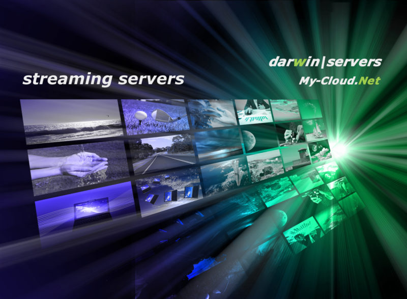 darwin, streaming server, to rent.