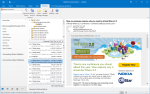 outlook webaccess email archiving