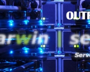 nas server, storage, darwin outrigger.
